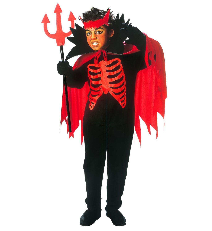 Halloween Karneval Jungen Kostum Teufel Faschingskram