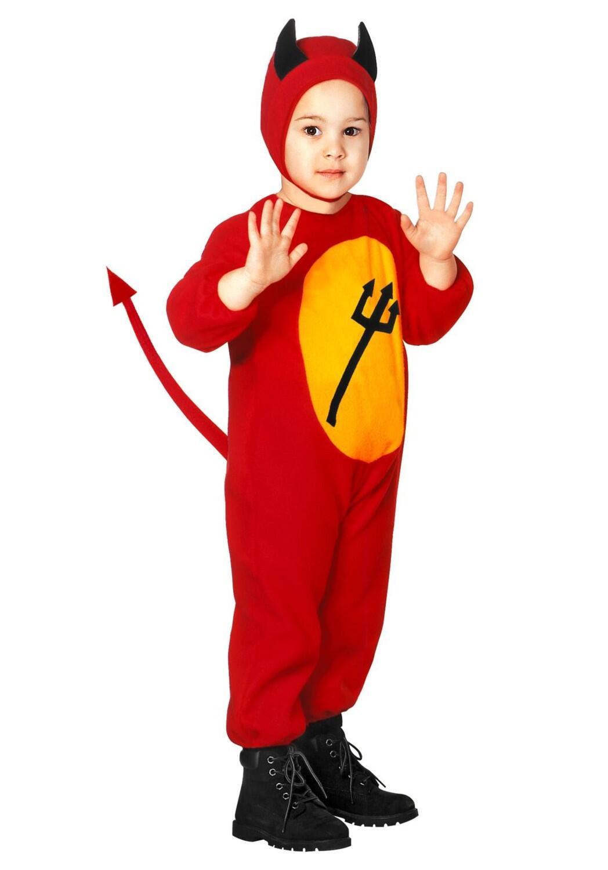 Karneval Halloween Kinder Kostum Kleiner Teufel Faschingskram