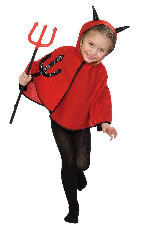Karneval Halloween Kinder Teufelsgabel Teufels Dreizack