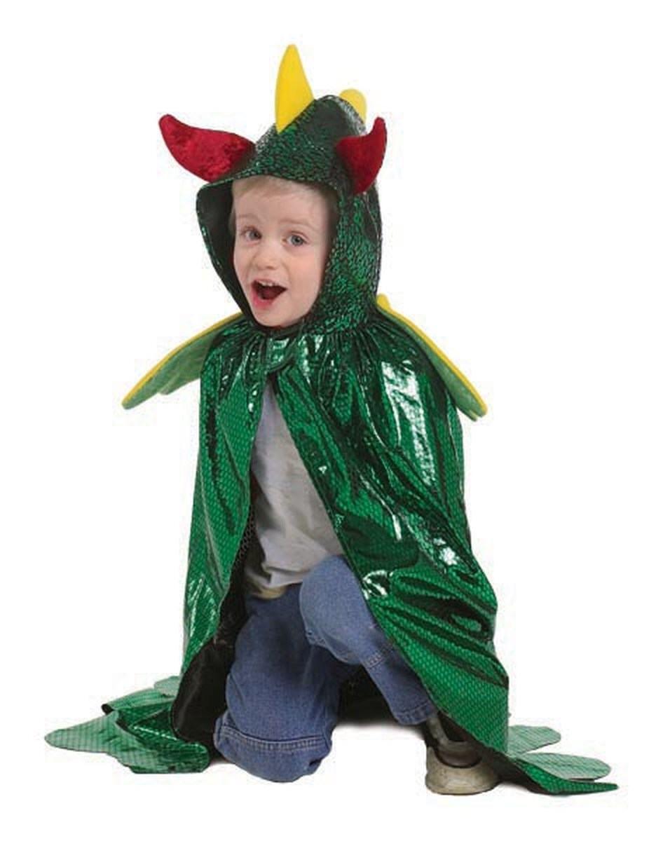 Karneval Kinder Kostum Drachen Cape Faschingskram