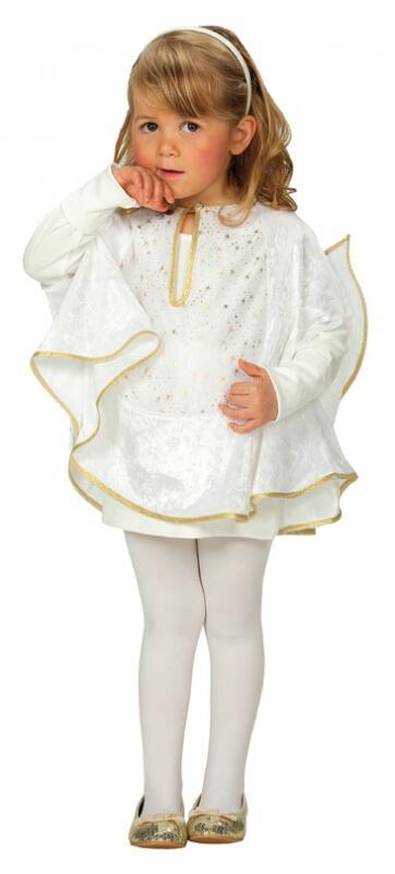 Karneval Kinder Kostum Engel Cape Faschingskram