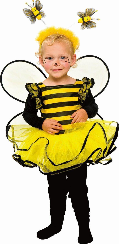 Karneval Madchen Kostum Biene Aline Faschingskram