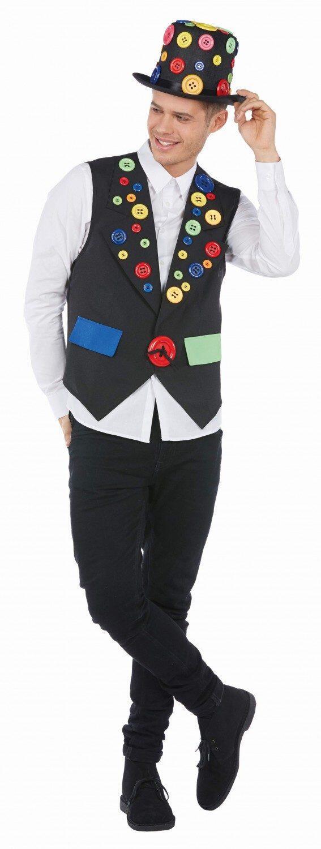beispiellos attraktiver Preis Kaufen Sie Authentic Karneval Herren Kostüm Weste Knöpfe