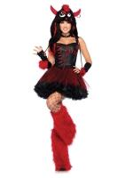 Leg Avenue Karneval Halloween Damen Kostüm Rebel Monster