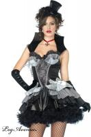 Leg Avenue Karneval Halloween Damen Kostüm QUEEN OF DARKNESS