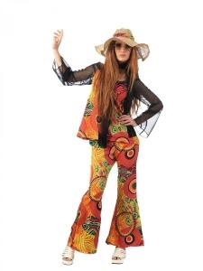 LIMIT SPORT Damen Kostüm Hippie Sommer