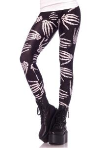 Leg Avenue Damen Leggings Boney Hands