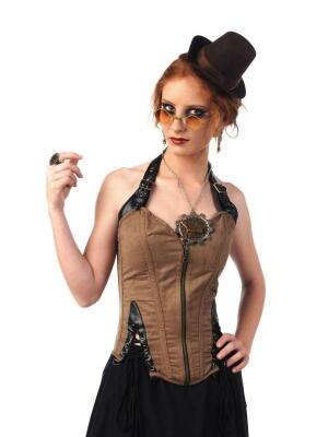 LIMIT SPORT Damen Steampunk Corsage
