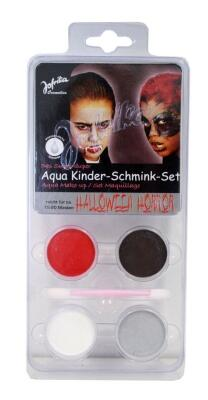 JOFRIKA Aqua Kinder Schmink Set Halloween Horror