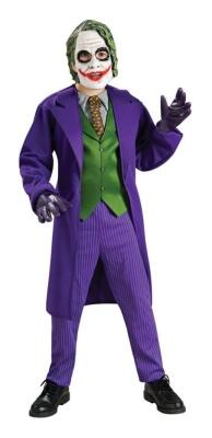 THE DARK KNIGHT Karneval Halloween Jungen Kostüm THE JOKER DELUXE