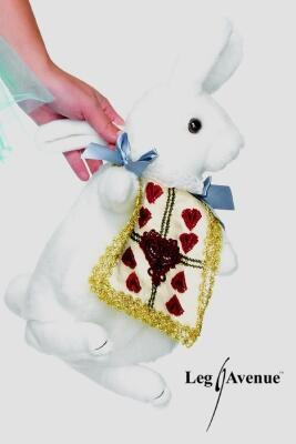 Leg Avenue Alice White Rabbit Tasche
