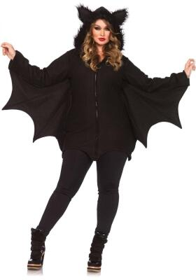 Leg Avenue Halloween Damen Kostüm Fledermaus Cozy Bat XXL