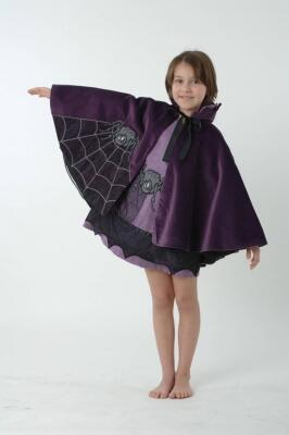 Lovely Lea Karneval Halloween Cape Spinne